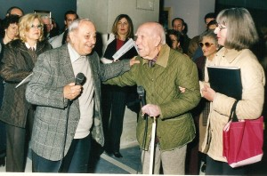 Maestro Ferdinando Chevrier e Maestro Osvaldo Peruzzi